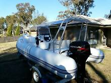 RIB Inflatable Boat - BRAND NEW WITH TRAILER ! Top Camp Toowoomba City Preview