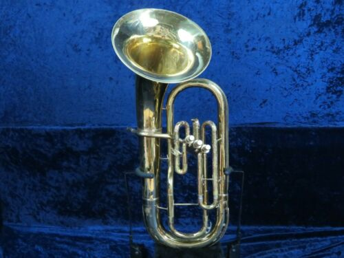 Conn 14i 3 Valve Baritone Horn Ser#HE080390 Student Package w/MPC Big Conn Sound