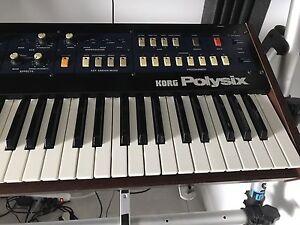 korg polysix avec modysix kit midi