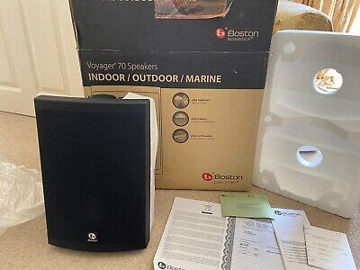 Boston Voyager 70 outside marine speakers New. in original box. White