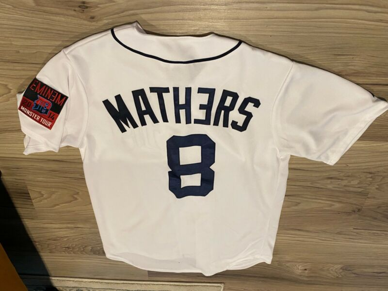 Eminem Monster Tour Exclusive Detroit Tigers Jersey