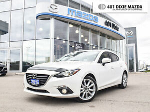 2015 Mazda Mazda3 GT NO ACCIDENTS ONE OWNER 1.9% FINANCING AVAIL