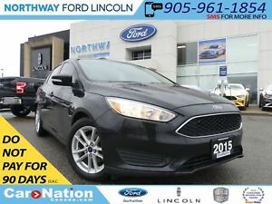 2015 Ford Focus SE | REAR CAMERA | SYNC BLUETOOTH |