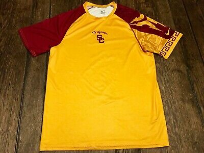 USC Trojans mens M medium NIKE shirt NCAA football basketball baseball college