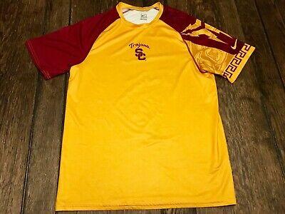 USC Trojans mens M medium NIKE shirt NCAA football basketball baseball college Trojans Mens Basketball