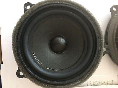 BMW i3 2015 OEM speakers door one pair mid 3 prongs Mini excellent condition