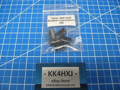 3PCS 15uF 400V 15MFD 400Volt Electrolytic Capacitor 13mm×16mm Radial