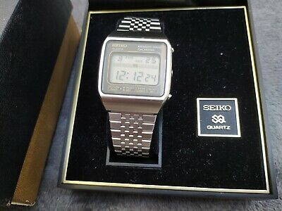 Seiko M354-5000 1979 Vintage Moonraker James Bond Watch