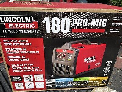 Lincoln Electric 180hd Weld Pak Mig Tig Pro 180 Hd Wire Feed Welder K2481-1