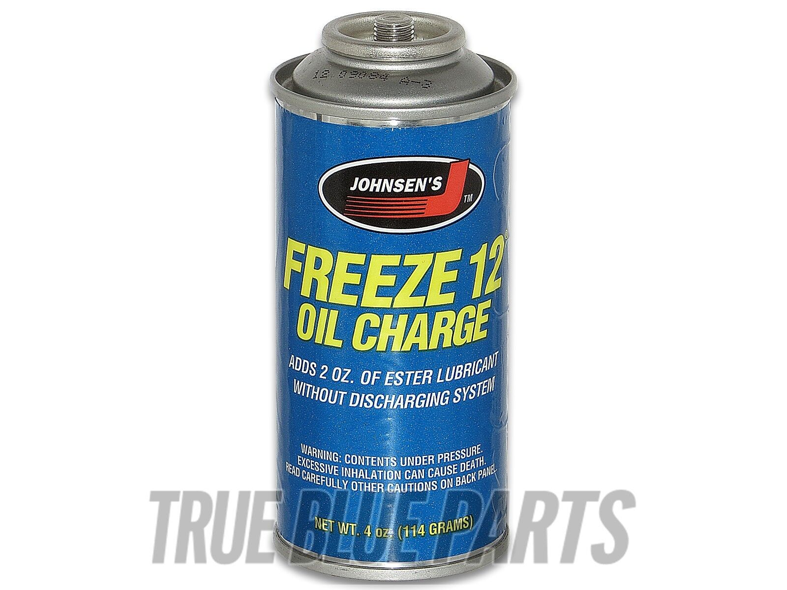 Johnsen's Freeze 12 4oz Oil Charge R12 Systems Vehicles Before Year 1993