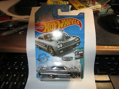 HOT WHEELS 2020 ZAMAC '64 CHEVY IMPALA E CASE TOONED #58 WALMART ONLY