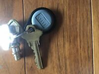 LOST keys with HID fob with Goodlife Fitness tag