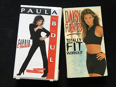 Paula Abdul and Daisy Fuentes Workout VSH Tapes