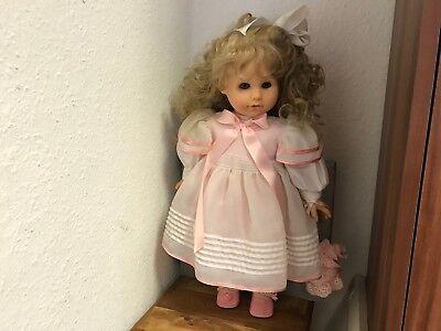Art Dolls-ooak Top Zustand Götz Hildegard Günzel Puppe Vinyl Puppe 55 Cm