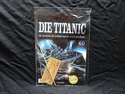 Die Titanic   -  60  -  Hachette  -  Modell  -  Neu (Titanic Holz Modell)