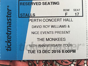 The Monkees 50th Anniversary Tour Perth Perth Perth City Area Preview