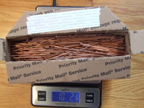 10 Lbs Scrap Copper Clean Bare  Wire Melt Recycle Ingot Cast .999 Fine