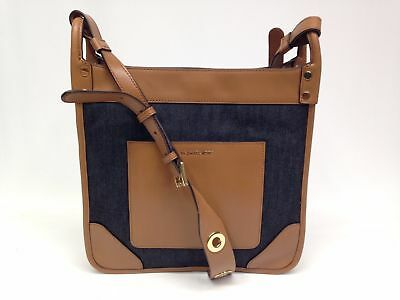 89d01ee514e4 Michael Kors $328 New Sullivan Large North South Messenger Shoulder Bag  Denim