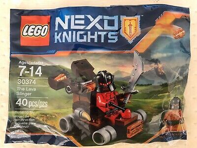 LEGO NEXO Knights The Lava Slinger 30374 (bagged) Polybag Minifigure