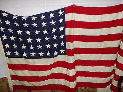 flag295 WW 2  48 Star US Flag 112 x 52 inch