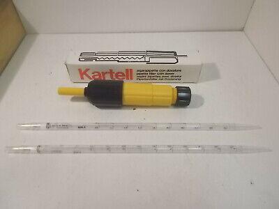New Kartell 9k052 10ml Pvc Pipette Filler W 2 New Vwr 10ml Pipettes