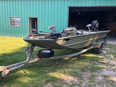 TRACKER GRIZZLY 1754sc fishing and duck boat