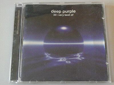 DEEP PURPLE - DEEP PURPLE 30: VERY BEST OF CD 1998 Emi IN A GOOD