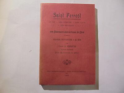 Usado, livre Saint Ferréol Céret édition 1924 Pyrénées-Orientales segunda mano  Embacar hacia Argentina