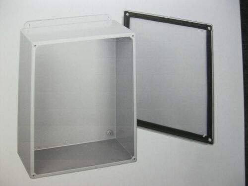 Hoffman A-1614sc Enclosure W/ Screw Cover, 16 X 14 X 6 Steel/gray, Type 12