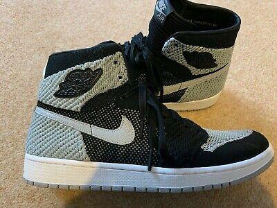 Nike Jordan 1 Retro High Flyknit Shadow UK 12 919704-003