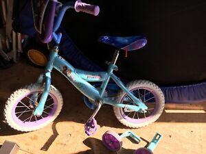 Vélo reine des neiges roues de 12»