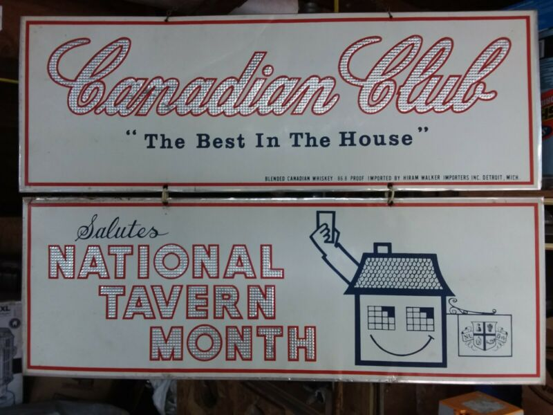 canadian club sign national tavern month