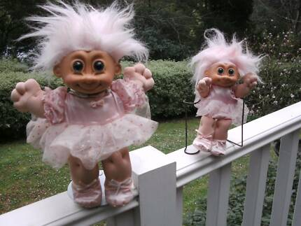 """Assorted """"RUSS"""" Vintage Trolls starting from ($5.00  -  $50) Ferny Creek Yarra Ranges Preview"""