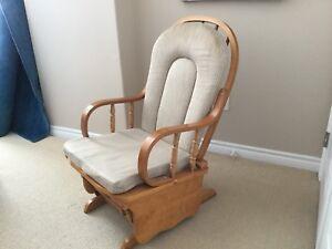 Vintage Rocker Glider Chair