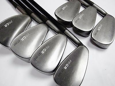 Muscle Back Left-handed PRGR CT-522 7pc SR-Flex IRONS SET Golf Clubs inv 6297_4