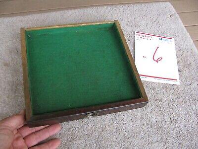 No Pull Union Usa Oak Machinist Drawer Tool Box 9 14 X 1 316 By 8 34 Deep