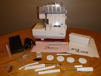 - JANOME 634D SERGER--NEW IN BOX-- FULL WARRANTY-AUTHORIZED DEALER