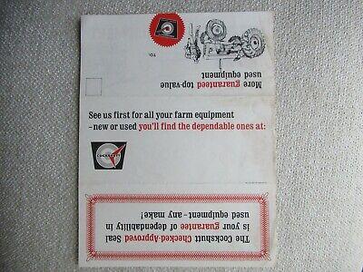 Cockshutt Advertising Mailer Brochure