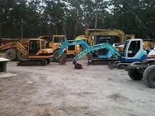 WANTED HEAVY EQUIPMENT EXCAVATOR BOBCAT LOADER DOZERS CAT KUBOTA Lake Macquarie Area Preview
