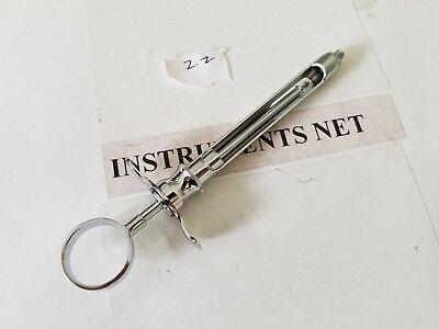 1 Dental Aspirating Syringe 2.2 Cc. Dentist Surgical Instruments