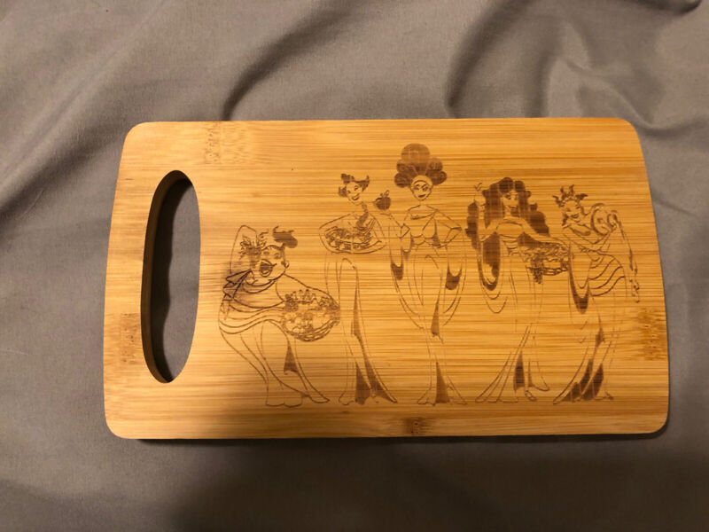 Hercules Litjoy Crate Cutting Board Fairyloot Owlcrate Illumicrate Disney