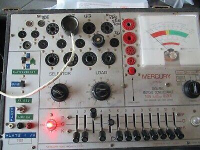 Calibration Service For Mercury 2000 Tube Tester Read Description Carefully