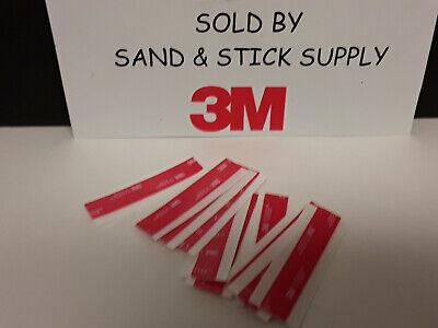 3m 4910 Vhb Clear Foam Double Stick Mounting Tape Sheets 10pc 12x 3 Pcs .040