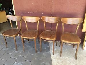 Bentwood chairs x 4 Kewdale Belmont Area Preview
