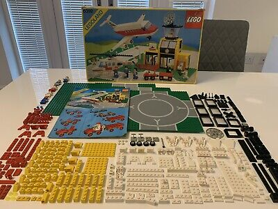 LEGO Classic Town 6392 Airport Box Instructions Incomplete Vintage 1985