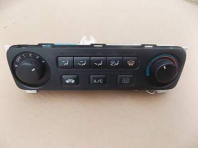 2001 2002 Honda Accord Climate Control Heater Temperature Ac