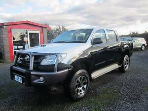 From only $118 p/week on finance* 2009 Toyota Hilux Dual Cab Ute Westbury Meander Valley Preview
