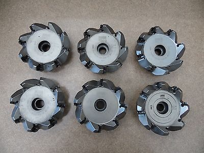 Walter Face Mill 4 Diameter 8 Cutter Inserts