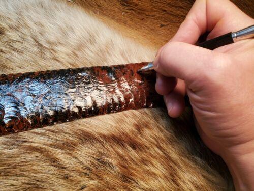 Flint Knapping Obsidian Scribe Pen Primitive Deer Knife Art Blade Preform Blank