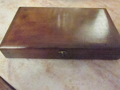 Antique Tap and & Die Tool Set Screw Plate 12 pc in Wood Box Mansfield